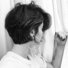 Esta crescendo e eu estou amando  #haircut #cabelocurto #hair #hairstyle #shorthair
