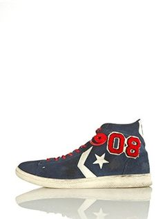 Converse Sneaker Pro Leat Lp Mid Suede Vars Ltd Pro Leat Lp Mid Suede Vars Ltd (Blu/Rosso)
