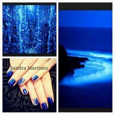 #bluenails  #acrylicnails #nailart #nails #uñas #barcelona #nail4nail