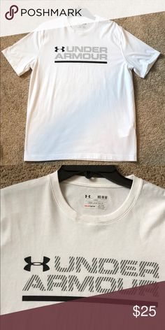Under Armor T Shirt Mens Medium perfect condition see second pic on neck  small mark probably 5310857631