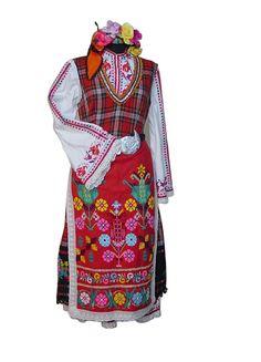 Thracian region Bulgaria   Тракийска женска носия : Horo.bg - българският сайт за народни хора, песни, танци, обичаи, фолклор