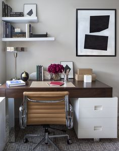 petite home office