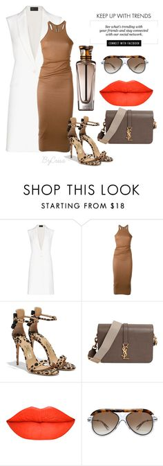 """Untitled #682"" by crisa-gloria-eduardo ❤ liked on Polyvore featuring Erdem, BCBGMAXAZRIA, Rick Owens, Salvatore Ferragamo, Yves Saint Laurent, Roland Mouret and Cartier"