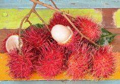 Rambutans: summer Thai fruit