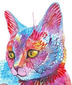 Gold Fish by Ola Liola, via Behance