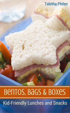 Free for a limited time: Bentos, Bags and Boxes - Healthy Snack and Lunch Ideas for Kids is an ebook packed with lunchbox ideas. Lacking inspiration for snacks? Not anymore. I'm determined not to get in a PB&J rut again this year.