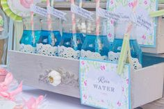 April Showers Birthday Party - Baby Shower, Sprinkle Party - Kara's Party Ideas - The Place for All Things Party