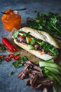 Nước chấm Steak Bánh mì | Vietnamese Marinated Steak Sandwich