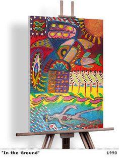 PIERCE BROSNAN artiste peintre decodesign / Décoration