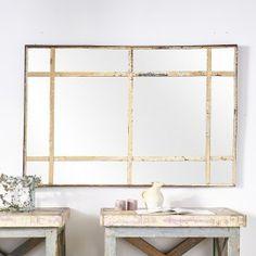Miroir d'usine patiné - desuet.fr Cozy House, Cottage, Simple, Furniture, Home Decor, Selling Online, Mirrors, Home, Decoration Home