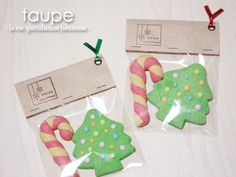 Le cahier de taupe かわいく楽しく!クリスマスクッキー&簡単ラッピング♪