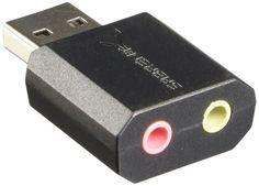 Soundkarte USB Externe für Windows und Mac.External Stereo Plug and play