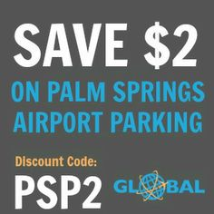 PSP Palm Springs Airport Parking Coupon
