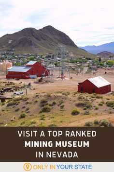 Explore historic and abandoned mining buildings at this unique spot in Nevada. A great family friendly day trip destination, the site now offers a museum, restored artifacts, and a gift shop. It's fun, affordable, and was recently rated one of the best attractions in the world. Swimming Holes, Ghost Towns, Hiking Trails, Abandoned Places, Day Trip, Us Travel, Nevada, Attraction, Travel Destinations