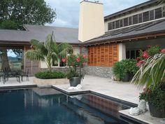 Cedar Shutters, Exterior, Patio, Outdoor Decor, Home Decor, Decoration Home, Room Decor, Outdoor Rooms, Home Interior Design