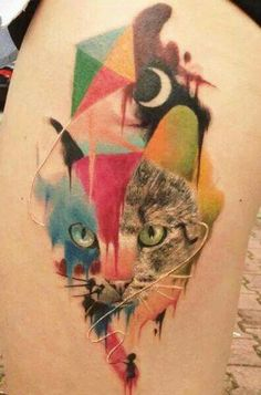 Love abstract tattoos- interesting to just look at