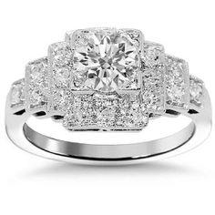 Platinum Diamond Engagements Ring  $4,729.00