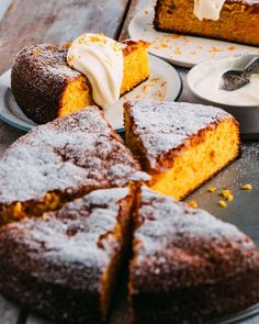 Italian carrot cake | There's not a drop of spice in this gorgeous, mascarpone-topped delight.