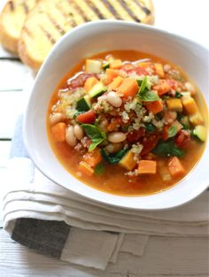 Winter Minestrone Recipe Winter