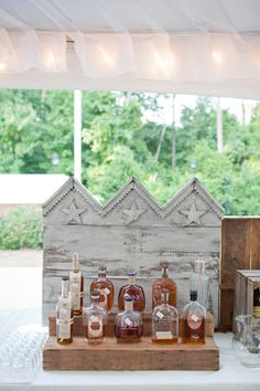 #wedding bourbon bar | Kellie Kano