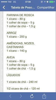 Medida de farinha