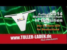 4. Stern für Deutschland WM 2014 in Brasilien - T-Shirts, Tassen, Stringtangas - YouTube