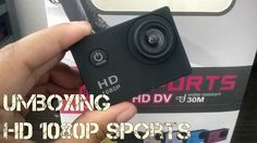 Umboxing HD 1080P Sports cam by Ariana Duarte