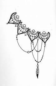 Картинки по запросу lace lotus tattoo black and white