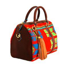 Claudia G Alessa Wayuu Genuine Leather Handbag