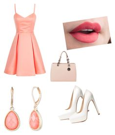 """""""Unbenannt #63"""" by bubble-gum04 ❤ liked on Polyvore featuring Charlotte Russe, Vintage America and MICHAEL Michael Kors"""