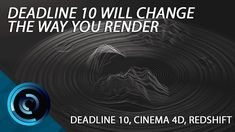 Intro to Deadline Using Redshift for Cinema Cinema 4d Tutorial, After Effect Tutorial, Digital Art Tutorial, Videography, Farms, Arnold Render, Learning, 3d, Motion Graphics