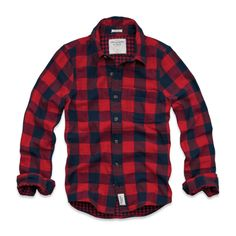 "Chemise en flanelle ""Redfield Mountain"" - Abercrombie & Fitch"