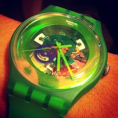 GREEN LACQUERED http://swat.ch/Green_Lacquered  #Swatch