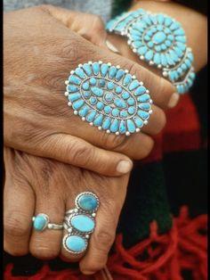 Hands of Navajo Woman