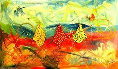 Artwork >> Maximin Lida >> LA LINEA DE LA VIDA - Abstract