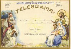 O Vento nem tudo levou: Telegrama