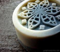 Elegant lavender soap with goat milk, what is a perfect gift for your mother or grandmother.    I pour my soaps into unique molds, which I carve