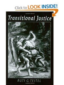 Transitional Justice by Ruti G. Teitel (to read)
