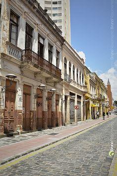 Rua Riachuelo - Centro de Curitiba