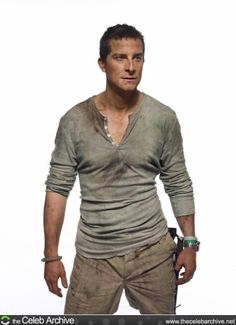 "Bear Grylls, the British adventurer and star of survival show ""Man vs. Sas Special Forces, Man Vs Wild, Bear Grylls, Cable Television, Secret Crush, Discovery Channel, Tv Presenters, Favorite Tv Shows, Favorite Things"