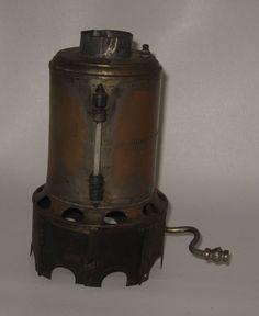 Early 1900's Weeden Steam Engine No 6 Brass Boiler #BP47
