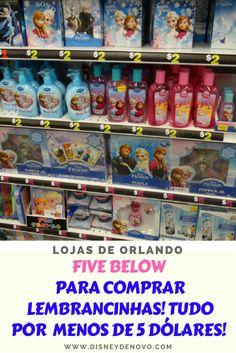 Five Below, Orlando, compras em Orlando, como economizar em Orlando, lojas de Orlando, dicas de Orlando