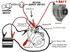 how can i jump the solenoid in a starter motor vehicle Electronic Circuit Projects, Electrical Projects, Car Starter, Starter Motor, Truck Repair, Engine Repair, Chevy Motors, Electrical Circuit Diagram, Motor Car