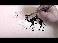 How to Splash Watercolour by Trevor Waugh. He is an amazing watercolor artist!