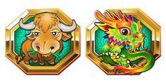 Lucky Zodiac online slot - astrology