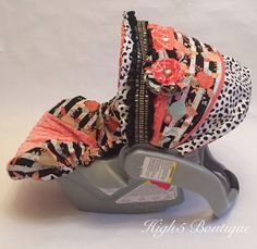Super Cute New Infant Baby Girl Car Seat Stroller