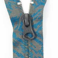 Coil Zippers (Nylon) - Coil Zippers with Printing - W&T