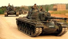 Bundeswehr M48A2GA2.