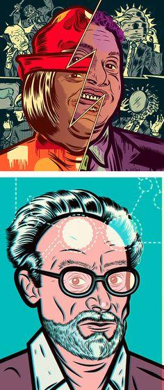 Amazing Illustrations by Diego Patiño