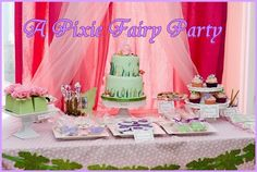 fairy bday party ideas
